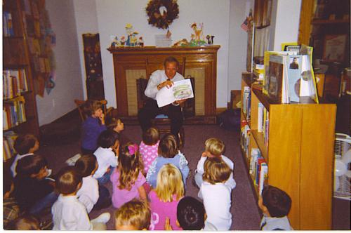 Storytime with Mayor Kelly