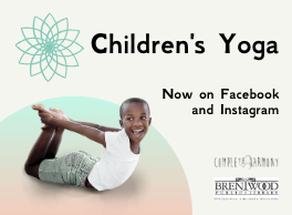 Children's Yoga: Now Online! @ Brentwood Public Library